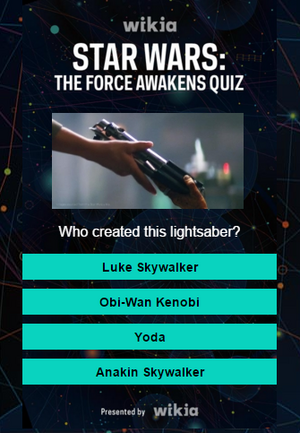 Star Wars-TFA Quiz