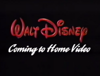 Coming to Home Video (WDHV)