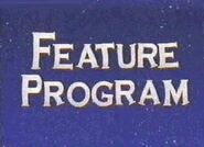 Feature Program (Winnie The Pooh And Christmas Too Variant)