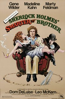 Adventure of sherlock holmes smarter brother movie poster