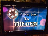 Disney Coming Soon to Theaters Bumper 11 (2006)