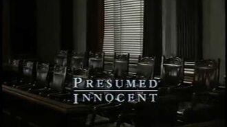 Opening to Presumed Innocent 1991 VHS True HQ