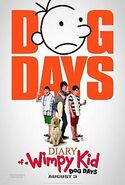 Diary of a Wimpy Kid - Dog Days movie poster
