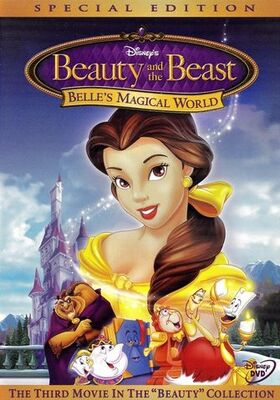 Beauty and the Beast - Belle's Magical World Special Edition DVD cover