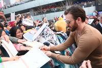 Captain America Winter Soldier Beijing Fan Event Chris Evans
