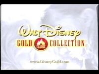 Walt Disney Gold Classic Collection promo