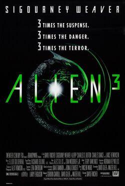 Alien three poster