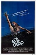 The Evil Dead 1981 Poster