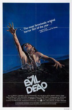 The Evil Dead 1981 Poster