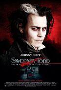 Sweeney Todd - The Demon Barber of Fleet Street 2007 Poster