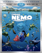 Finding Nemo 2012 3D Blu-ray
