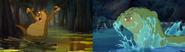 Swan Princess VS Princess and the Frog Louis vs SP gator