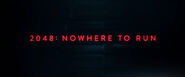 2048 - Nowhere To Run 2017 Poster