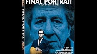 Opening to Final Portrait 2018 DVD