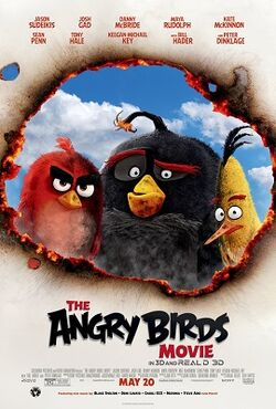 Angry Birds 2016 film poster