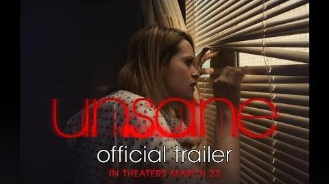 UNSANE Official Trailer In theaters March 23