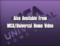 Also Available from MCA/Universal Home Video