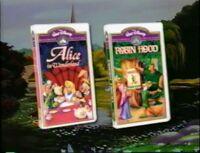 Video promo Alice in Wonderland & Robin Hood
