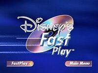 Disney's Fast Play Bumper 4x3