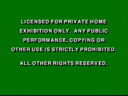 Disney Green Warning (1991)