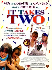 It Takes Two movie print ad NickMag June July 1996