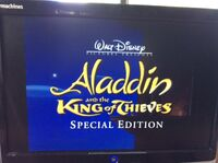 Trailer The Return of Jafar & Aladdin and the King of Thieves Special Editions 2