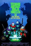 Teenage Mutant Ninja Turtles II (1991 film) poster