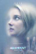 The Divergent Series Allegiant - Tris Character Poster