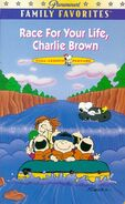 Race for Your Life, Charlie Brown VHS