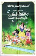 Snowwhite 1983 re-release poster