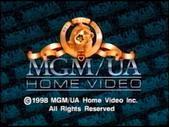 MGM/UA Home Video Copyright Screen (1998)
