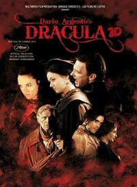 Dario Argento'sDracula 3D poster