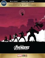 Avengers Age of Ultron Blu-ray Best Buy Steelbook