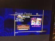 Disney Sneak Peeks (Walt Disney Cartoon Classics- Extreme Adventure Fun variant 2)