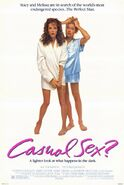 Casual Sex? 1988 Poster