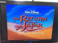 Trailer The Return of Jafar & Aladdin and the King of Thieves Special Editions