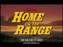 Home on the Range Theatrical Teaser Trailer
