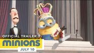 Minions - Official Trailer 3