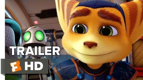 Ratchet & Clank Official Trailer 1 (2015) - Bella Thorne Animated Movie HD