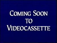 Coming soon to videocassette (1994)