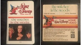 Opening to The Watcher in the Woods 1981 Rental VHS True HQ
