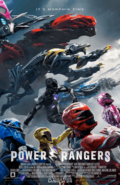 Power Rangers (2017 Official Theatrical Poster)