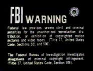 20th Century Fox Home Entertainment Warning Screen (Black Background)