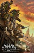 Teenage Mutant Ninja Turtles Out of the Shadows poster