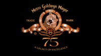 Metro Goldwyn Mayer Logo 1999 75th Anniversary