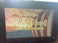 Video trailer Lady and the Tramp II Scamp's Adventure 2