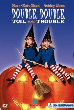 Double, Double, Toil and Trouble DVD cover