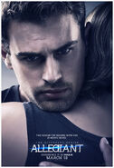 The Divergent Series Allegiant - Four Together Poster