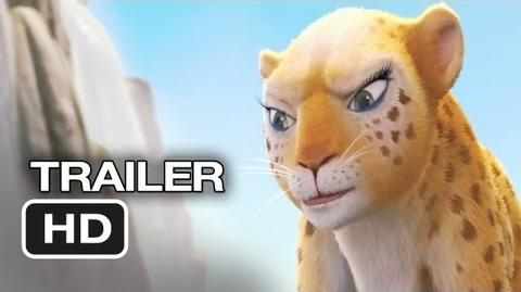 Delhi Safari Official Trailer 1 (2012) - Jane Lynch, Cary Elwes Movie HD
