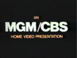 MGM/CBS Home Video